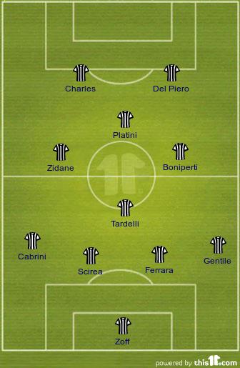 Juventus All Time Xi Devong