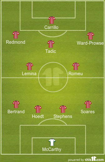 Key Change In Attack: Predicted 4-2-3-1 Southampton Lineup To Face Newcastle United 1