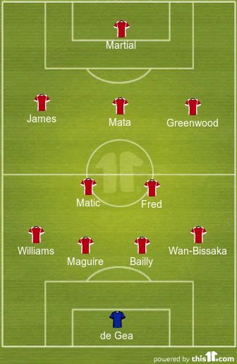 predicted manchester united lineup vs burnley