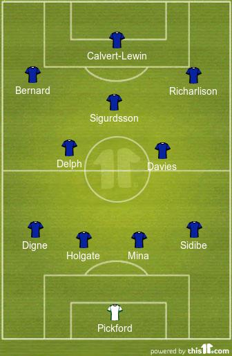 Ancelotti's First XI: Predicted 4-2-3-1 Everton Lineup vs Burnley 1