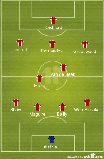 predicted manchester united lineup vs newcastle united