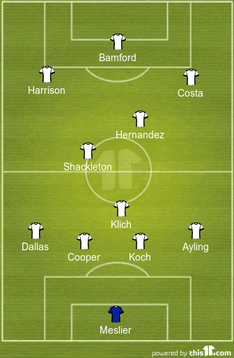 Predicted Leeds United Lineup vs Crystal Palace