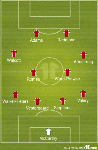 Predicted Southampton Lineup vs Newcastle United