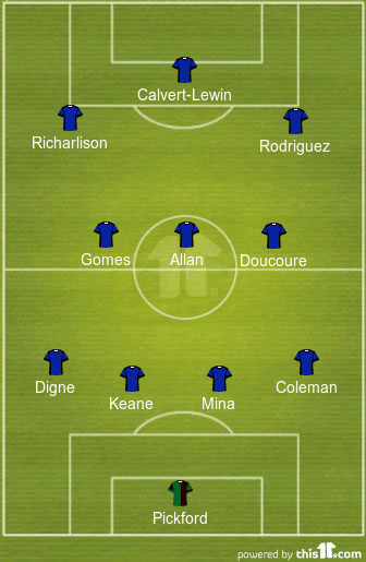 predicted everton lineup vs west brom