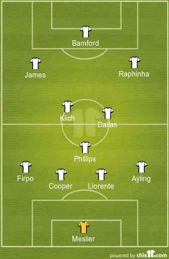 How Leeds United might line up with Daniel James